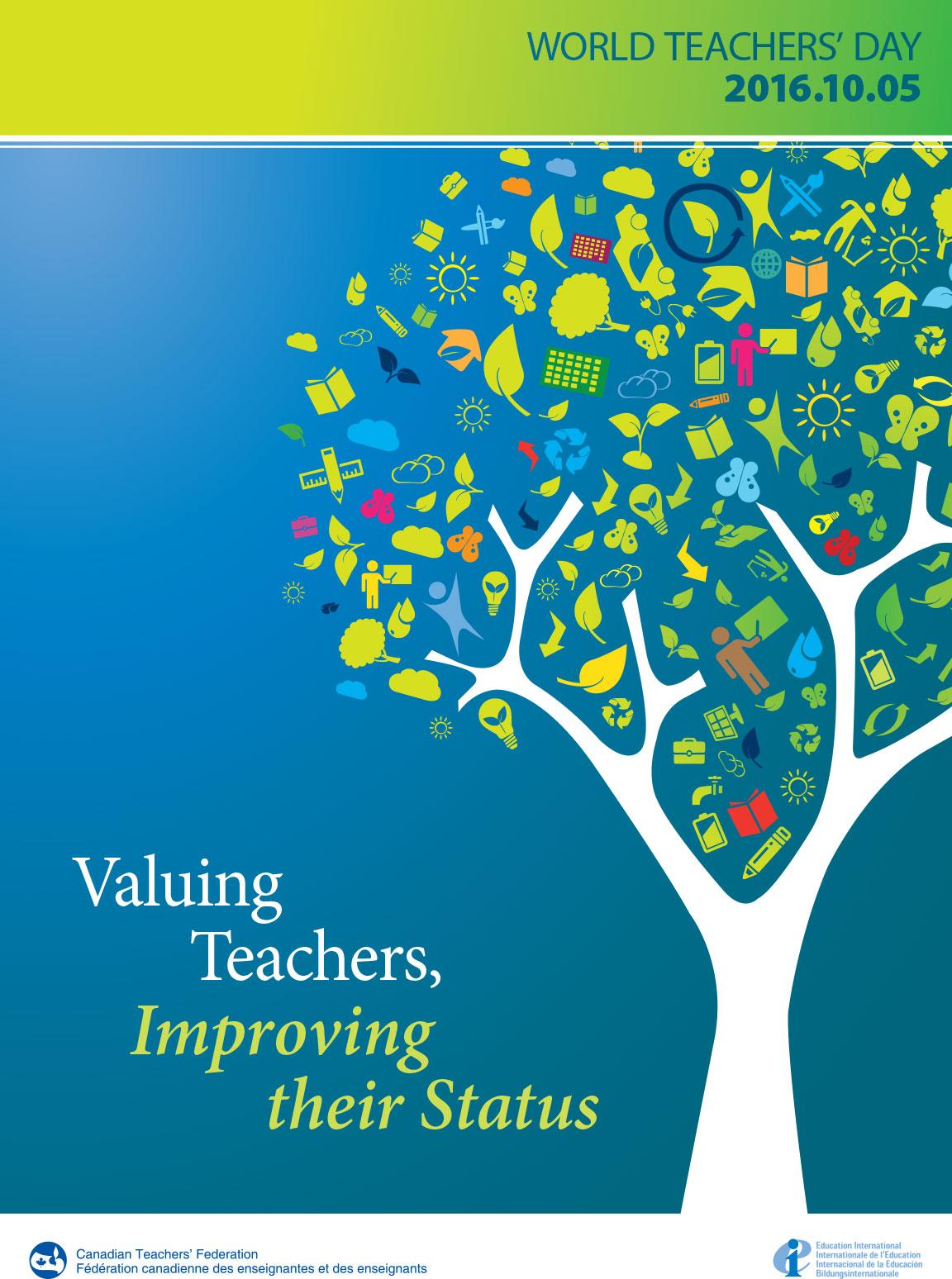 YCDSB celebrates World Teachers' Day, October 5th